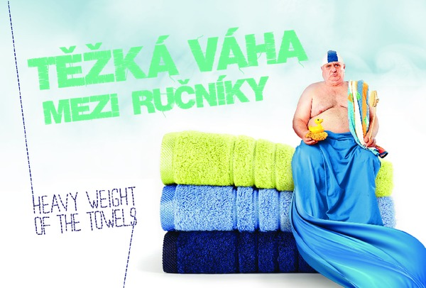 Heavy weight of the towels